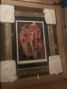 Shades Of Autumn By Alfred Gockel 2011 Custom Framed Seriolithograph With Coa