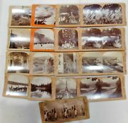 Antique Keystone Stereoscope Viewer Cards Mixed Lot Of 17 Queen Victoria
