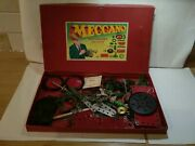 Meccano Accessory Outfit Played With Condition Red And Green Loose Parts With...