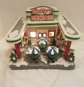 St Nicholas Square Village Collection Bettyand039s Diner Exc.cond Orig Box