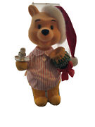 Telco Motionette Disney Animated Winnie Pooh Christmas Moves And Lights Up 22