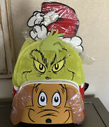 Loungefly Dr. Seuss Santa Claus And Max Dog Mini Backpack New Aop Sold Out