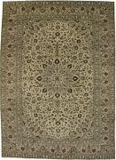 10x14 Classic Design Beige Handmade Vintage Area Rug Oriental Carpet 9and0397x13and0395