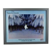 The Snowman 1982 Original Hand Painted Production Used Animation Film Cel