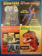 Vintage 1990's Tomart Magazines Action Figure Digest And Disneyana 4 Issues