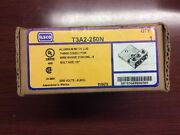 Ilco T3a2-250n Aluminum Mech. Lug 3 Conductor New Old Stock
