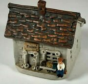 Windy Meadows Pottery - Produce Cottage - Hand Built - Slab Stoneware - Ceramic