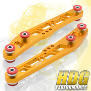 Gold Cross Design Lower Control Arm Red Bushings For 92-95 Civic 94-01 Integra
