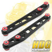 Jdm Performance Suspension Rear Lower Control Arm Black Red Set For 96-00 Civic