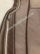 Ford F250 F350 Xlt Supercrew Coffee Brown Custom Leather Seat Covers Upgrade
