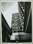 Shepard Fairey And Jon Furlong Covert To Overt Peace Tree Signed And Numbered
