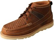 Twisted X Menand039s 4 Wedge Sole Casual Laced Eco Twx Moc Toe Shoes