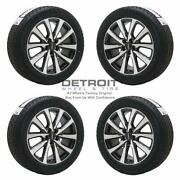 18 Lincoln Mkc Machined Grey Wheels Rims And Tires Oem Set 4 2019-2020 10209