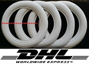 14and039and039x3 Wide Whitewall Portawall Tyre Insert Trim Set Of 4pcs Free Shipping