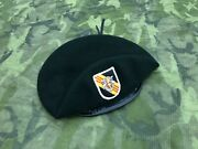 Us. | 5th Special Forces Group Abn | Green Beret | 71/2-5/8-60-62cm | 1970and039s
