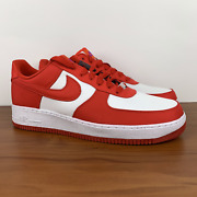 Nike Air Force 1 Low Unlocked By You Id Gym Red White Cw0400-991 Men's Size 14