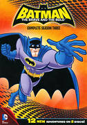 New Batman The Brave And The Bold - Complete Third Season Dvd 2012 2-discs