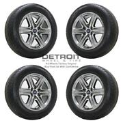20 Ford F150 Hyper Silver Wheels Rims And Tires Oem Set 4 2018-2020 10172