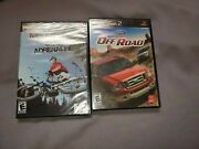 New Lot Of 2 Ps2 Games For Racing Offroad And Mountain Bike Adrenaline