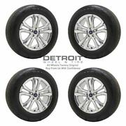 18 Ford Edge Polished Wheels Rims And Tires Oem Set 4 2015-2020 10194