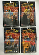 Last Action Hero Rare Set Of 4 Skull And Heat Jack + Ripper + Hook Danny Sealed
