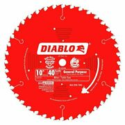 Diablo Tools D1040x 10 In. X 40 Tooth General Purpose Saw Blade