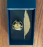Pottery Barn Teen Harry Potter Golden Snitch Clock New In Box Collectible