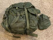 Lc-1 Large Field Combat Usmc Military Rucksack Backpack W/ Alice Frame