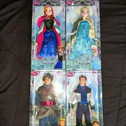 Disney Store Frozen Classic Doll Collection Set