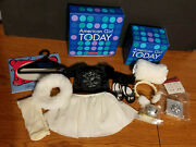 American Girl Doll Winter Magic Outfit And Accessories - Christmas Ornament Bell