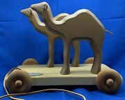 2000 Henn Workshops Camels 4th Edition In The Noahand039s Ark Pull Toy Collection