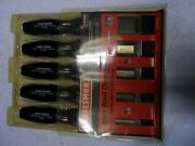 Craftsman 5 Pc Wood Chisel Set 1/4 1/2 3/4 1 1-1/4 Made In Usa - Part 36859
