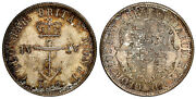 British West Indies. 1822/1 Ar 1/4 Dollar. Ngc Ms65. Crowned Anchor Km 3