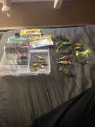 Assorted Bass Lures
