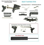 Lower Parts Kit For Both G-17 And G-19 Gen 1 To 3 Polymer 80 Compatible