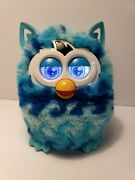 Hasbro Furby Boom Blue Waves Turqoise With Teal Ears 2012 Free Shipping