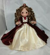 Disney Christmas Movie Belle Precious Moments Doll Beauty And The Beast
