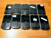Lot Of 10x Blackberry Bold 9000 Cell Phone Qwerty Cellulars Unlocked 1gb Black