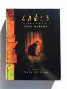 Dave Mckean Andlsquocagesandrsquo Hc First Edition 1998 / Sandman / Collects Cages 1-10