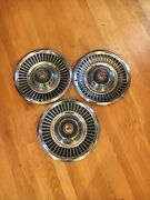 Vintage 1960and039s 1967 Dodge Coronet Chryslery Plymouth Hub Wheel Caps Hubcaps 14