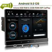 12.2 Android 9.0 Bt Car Radio Stereo Hdmi Wifi Gps Sat Navi For 2 Din Universal