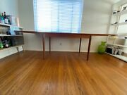 Danish Mid Century Modern Dinning Table Set With Chairs Original Vintage