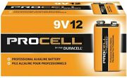Duracell Pc1604 Procell Alkaline 9v Batteries - 12 Count Packaging May Vary