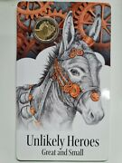2015 Ram Unlikely Heroes - Murphy The Donkey Unc 1 One Dollar Coin - Free Post
