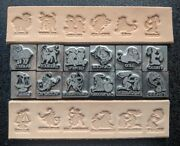 Leather Stamps - Set Of All 12 For Zodiac Astrology Horoscope Limited Edition