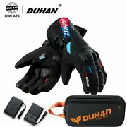 Winter Motorcycle Riding Gloves Constant Temperature Heating Warm 100windproof