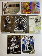 2020 Absolute Tools Of The Trade Triple Patch Jersey Relic 42/75 Michael Thomas