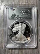 End Of World War Ii 75th Anniversary American Eagle Silver Proof Coin Pcgs Pr70d