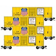Micro-trains 99300172 N Scale Union Pacific 4-pk Runner Pack 172