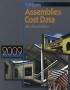 Rs Means Assemblies Cost Data 2009